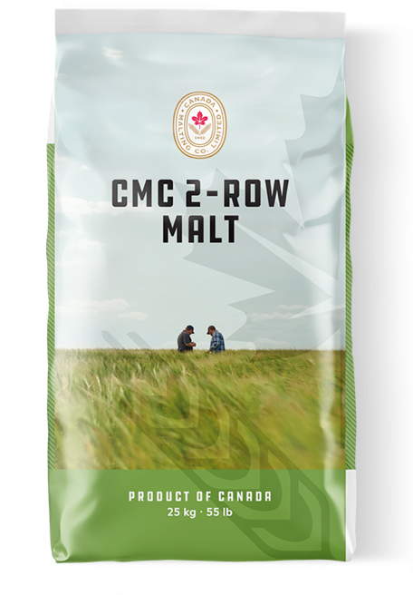 CMC 2-ROW MALT package